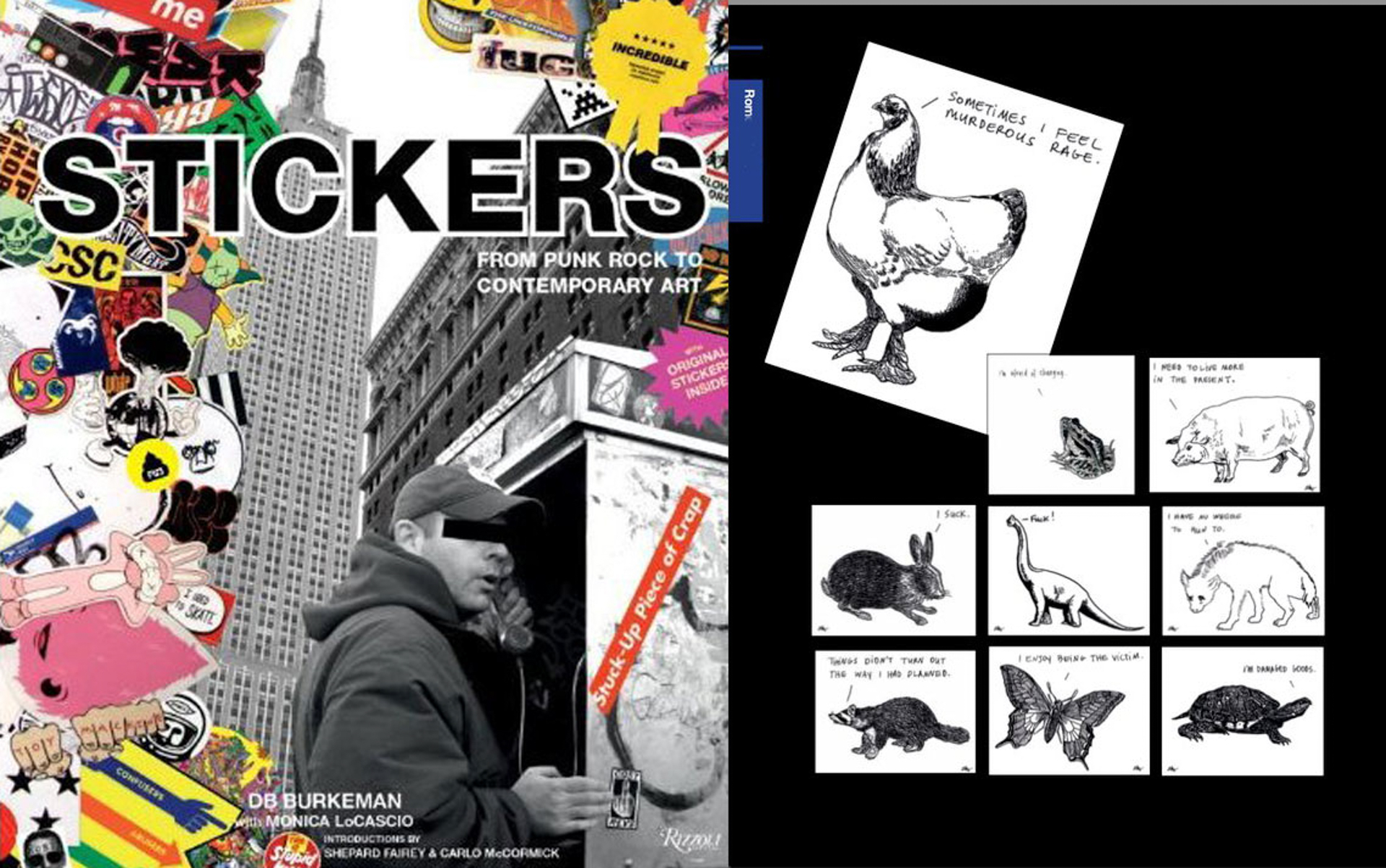 'Stickers: Stuck-Up Piece of Crap: From Punk Rock to Contemporary Art Paperback' (Rizzoli, 2010)